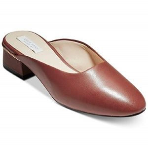 Cole Haan Laree Slide Mule Leather NEW IN BOX